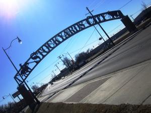 Entrance to Stockyard City!