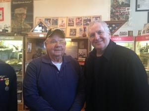 We met ex-Korean Veteran Bob, who showed us around