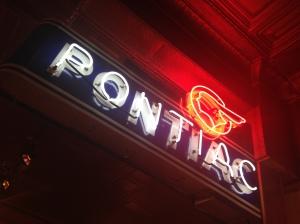 Pontiac Museum Neon Sign