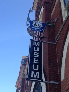 The Route 66 Museum,Pontiac