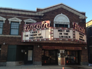Lincoln cinema, where the premiere of the 2014 film Lincoln was shown