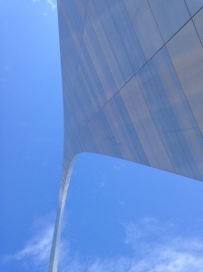 The Gateway Arch stands 630 feet tall, 63 stories, 192 meters or 7,560 inches tall