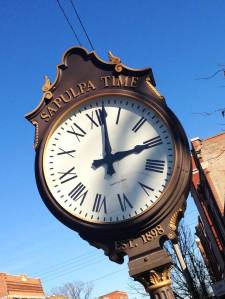 Sepulpa clock
